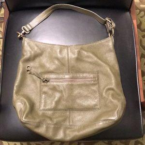 J Crew Collection olive shoulder bag